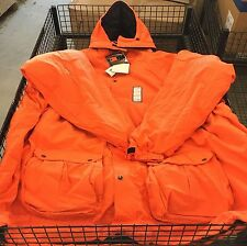 WFS 4-in-1 Hunting Parka Big & Tall Blaze Orange Size 8X XXXXXXXXL