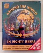 SEALED~AROUND THE WORLD IN EIGHTY BEERS~Made In England~Adult BEER Party Game