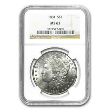 Morgan Silver Dollar - MS-62 NGC