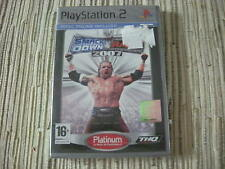 SMACKDOWN VS RAW 2007 PLATINUM PLAYSTATION 2 PS 2 NUEVO Y PRECINTADO