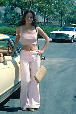 Jacqilyn Smith 1978 Outdoor Pose with Mustang 8 x 10 Photograph