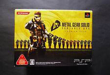 system Sony PSP METAL GEAR SOLID PORTABLE OPS Premium Pack CIB JAPAN