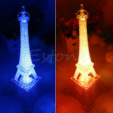 Home Decor Romantic Creative Eiffel Tower LED Lamp Home Wedding Night Light Gift