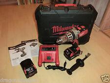 Milwaukee hd18 PD batería un taladro en la maleta, 2x 18v/3, 0ah baterías, 2j. garantía