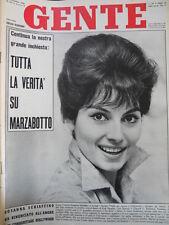 GENTE n°45 1961 Rosanna Schiaffino - Il comunismo si chiama STALIN [C58]