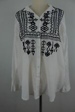 New Johnny Was Biya Casual Blouse Size M