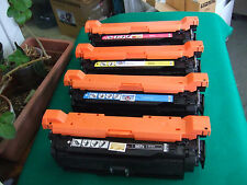 Re-manufactured HP 504X 504A Toner CE250X CE251A CE252A CE253A to CP3525 CM3530