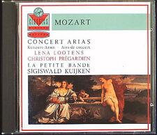 Christoph PREGARDIEN & Lena LOOTENS MOZART Concert Arias Sigiswald KUIJKEN CD