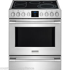 """Frigidaire Pro Stainless Steel 30"""" Electric Range Front Controls FPEH3077RF"""