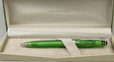 Levenger True Writer Always Greener Transparent Ballpoint Pen - New In Box