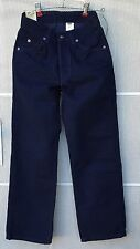 Boys 562 Levis Jeans Size 11 Reg Loose Fit NWT 30 waist 27 inseam Dark Blue NEW