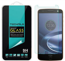 TechFilm® Tempered Glass Screen Protector Saver For Motorola Moto Z Force Droid