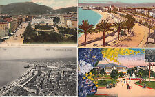 Lot 4 cartes postales anciennes NICE 2