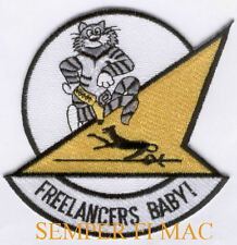 AUTHENTIC VF-21 FREELANCERS PATCH USS US NAVY PIN UP NAS USS CAG F14 TOMCAT GIFT