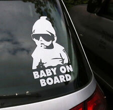 ''Baby on Board vinyl'' Auto decal/sticker truck car window laptop Hangover