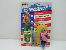 American Defense Remco 1986 Granite Pink Action Figure Sealed Commando Kmart