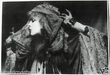 """STEVIE NICKS """"HOLDING HEAD SCARF"""" COMMERCIAL POSTER FROM THE 80's -Fleetwood Mac"""