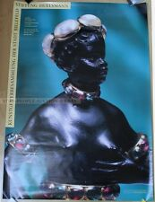 GERMAN EXHIBITION POSTER - FOUNDATION HUELSMANN * BUST WOMAN