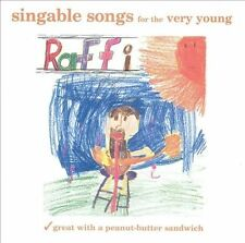 Singable Songs for the Very Young: Great with a Peanut-Butter   SEALED RAFFI /CD
