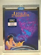 Aladdin 2015 Disney Diamond Blu-ray DVD HD NEW w/ Best Buy Lenticular slipcover