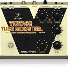 BEHRINGER VINTAGE TUBE MONSTER full-tone roar of a tube engine under its hood
