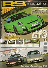 RS MAGAZINE 65 PORSCHE 997 GT3 RS 996 GT3 993 C2S C4S 356 SC 1964 RUF RCT 320KM/