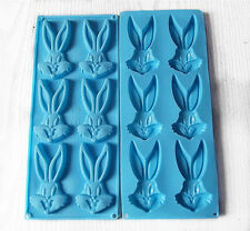 1 Pc Bugs Bunny Fondant Chocolate Clay Jelly Soap Silicon Silicone Mold Molder