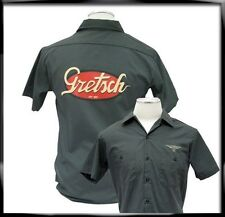 GRETSCH VINTAGE LOGO WORKSHIRT MEDIUM