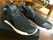 NIB MEN Y-3 ADIDAS 'QR RUN' BOOST HIGH TOP SNEAKERS SHOES US 9.5 100% AUTHENTIC