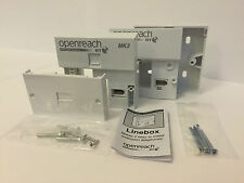Genuine BT Openreach MK3 VDSL/ADSL Faceplate/Filter NTE5a Master Socket Back box