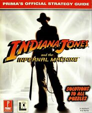 """PC GAME BOOKS - """"INDIANA JONES: INFERNAL MACHINE"""" OFFICIAL STRATEGY GUIDE - NEW"""