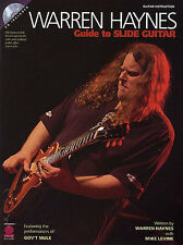 Warren Haynes Guide To The Slide Guitar Learn to Play Music Book & CD LEARN HITS