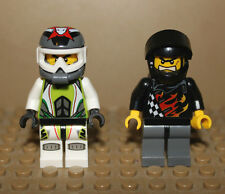 LEGO Mini Figure Minifig Backyard Blasters Racer and Team Extreme Racer