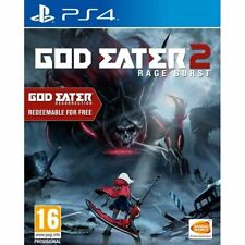 GOD EATER 2 Rage Burst - Playstation PS4 - UK RELEASE - NEW SEALED