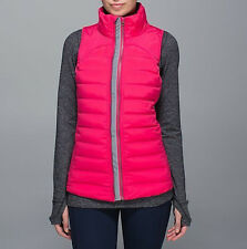 Lululemon Fluffed Up Vest Size 8 Boom Juice 800 Fill Goose Down NWT