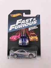 Hot Wheels Fast And Furious 8 Collection Car 2/8 Nissan Skyline Gt-R R34 NEW!!!