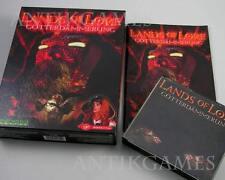 Lands of Lore 2 II crepúsculo de los dioses westwood alemán en Bigbox con manual PC