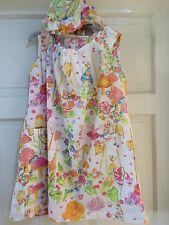 Lovely Designer Oilily  Girls Dress Age 6 With Matching Hat/hood