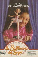 X4275 La Ballerina dei Sogni - GIG - Pubblicità 1986 - Advertising