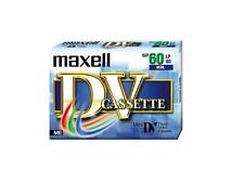New Maxell SP60LP90 DV-60 DV Cassette Digital Video Camera Cassette Single