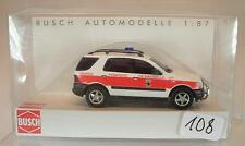 Busch 1/87 48524 Mercedes Benz M-Klasse Feuerwehr Marseille Frankreich OVP #108