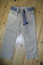 Tommy Hilfiger-biege trousers+belt.4T.Cotton.Worn once.