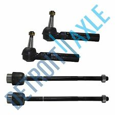 New 4pc Complete Inner and Outer Tie Rod Kit Buick/Chevrolet/Pontiac 2YR WRNTY