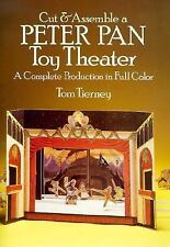 Cut & Assemble a Peter Pan Toy Theater (Models & Toys), Tierney, Tom, Acceptable