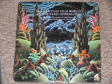 BERNARD HERRMANN The Fantasy Film World Of LP 1974 DECCA Fahreneheit 451 OST