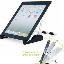 Universal Three Angle Mount Aluminium Bracket Stand Holder For iPad Tablet PC