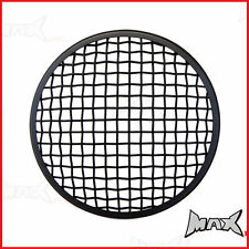 7 INCH Black Mesh Headlight Stone Guard for Triumph custom project motorcycle