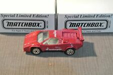 MATCHBOX   SPECIAL LIMITED EDITION    LAMBORGHINI  COUNTACH LP 500S  1997