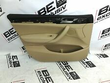 BMW X3 F25 Türverkleidung links vorne front left door panel RHD Leder beige LUB4
