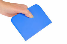 BLUE UK Made Pastry Bread Dough Cake Decorating Baking Scraper 14cm x 10cm S7324
